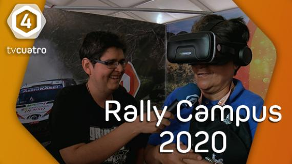 Gabo Ochobits visita el stand de Tv4 Interactivo en el Rally Campus 2020